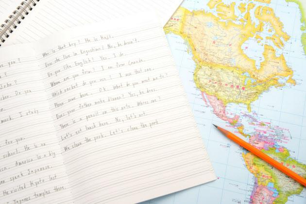 英語の日記