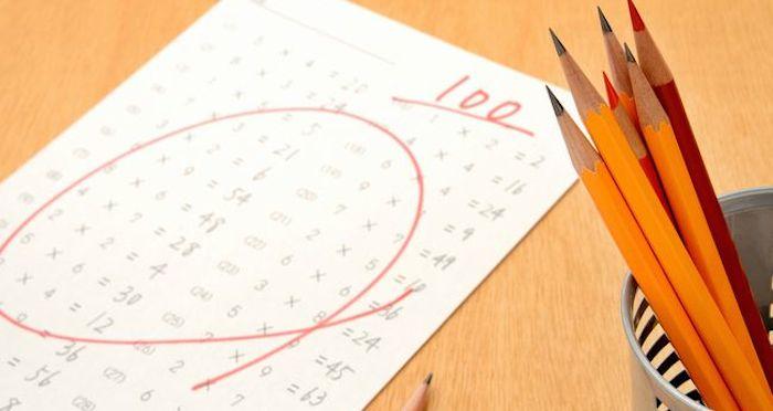 高校1年の期末試験で数学100点をとりました!