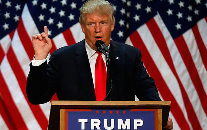 トランプ新アメリカ大統領